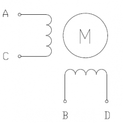 Nema 17 - 200 Adım Step Motor Bipolar - 42×38mm - 2.8V - 1.7A - Thumbnail