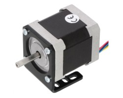 NEMA 17 Step Motor Tutucu - Motor Bağlantı Aparatı - Alüminyum L Dirsek - Pololu - Thumbnail