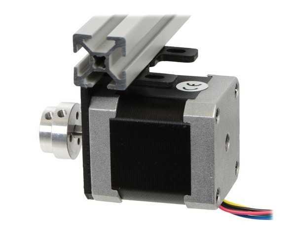 NEMA 17 Step Motor Tutucu - Motor Bağlantı Aparatı - Alüminyum L Dirsek