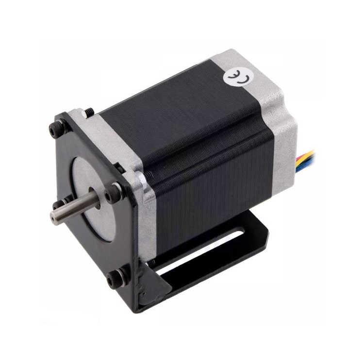 NEMA 23 Step Motor Tutucu - Motor Bağlantı Aparatı - Çelik L Dirsek