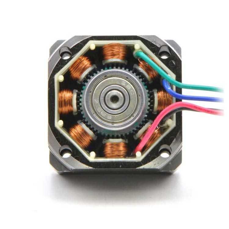NEMA 11 200 Adım Bipolar Step Motor 0.67A