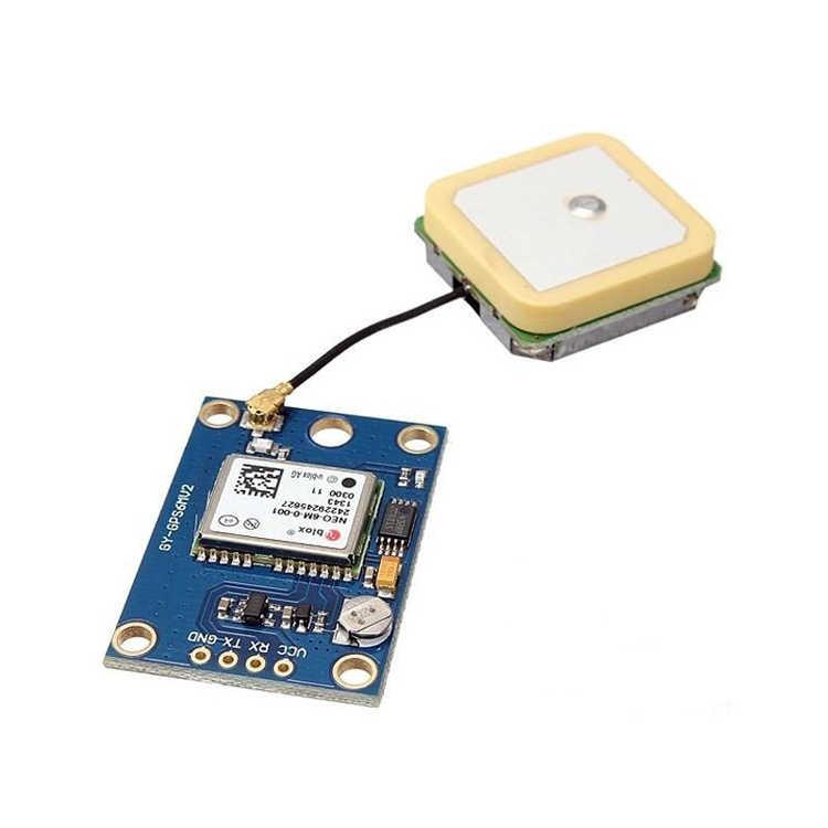 Neo-7M Çift Anten Arayüz GPS Modül