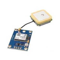 Neo-7M Çift Anten Arayüz GPS Modül - Thumbnail