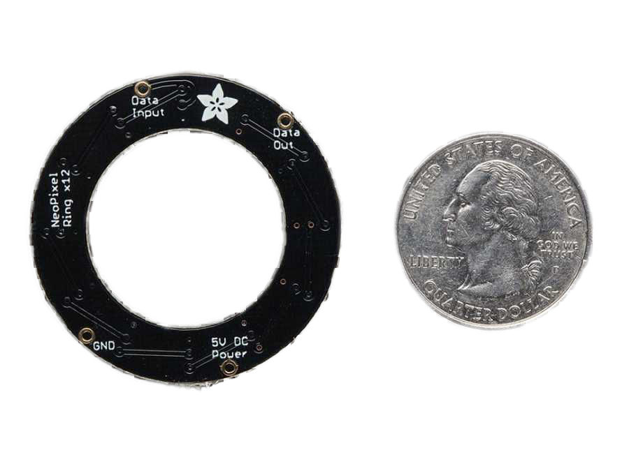 NeoPixel Ring - 12 x 5050 Adreslenebilir RGB LED