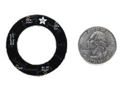 NeoPixel Ring-12 x 5050 Addressable RGB LED - Thumbnail