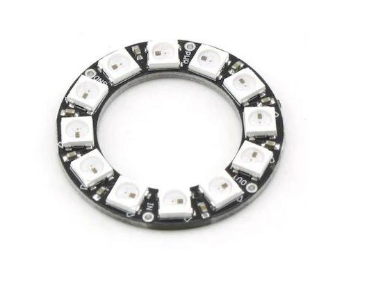 NeoPixel Ring-12 x 5050 Addressable RGB LED
