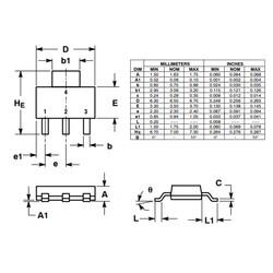 NSV60601MZ4T1G 6A 60V Npn Smd Transistör Sot-223 - Thumbnail