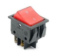 KCD2 On-Off Rocker Anahtar Kırmızı Işıklı