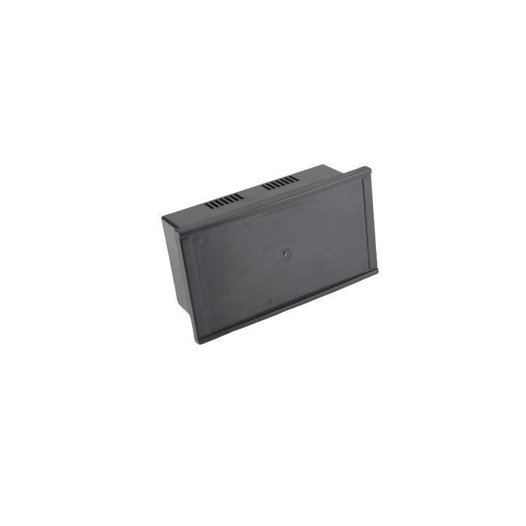 OP-100 LCD Yeri Kapalı Panel Kutu Siyah - 233 x 130 x 83mm