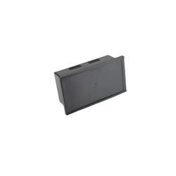 OP-100 LCD Yeri Kapalı Panel Kutu Siyah - 233 x 130 x 83mm - Thumbnail