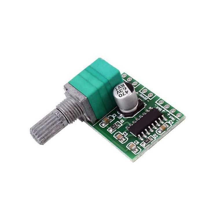 PAM8403 2 Kanal 3W Ayarlı Mini Amplifikatör