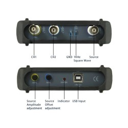 PC Osiloskop (2X20MHz/48MS/s) + Spektrum Analiz (ISDS205B) - Thumbnail
