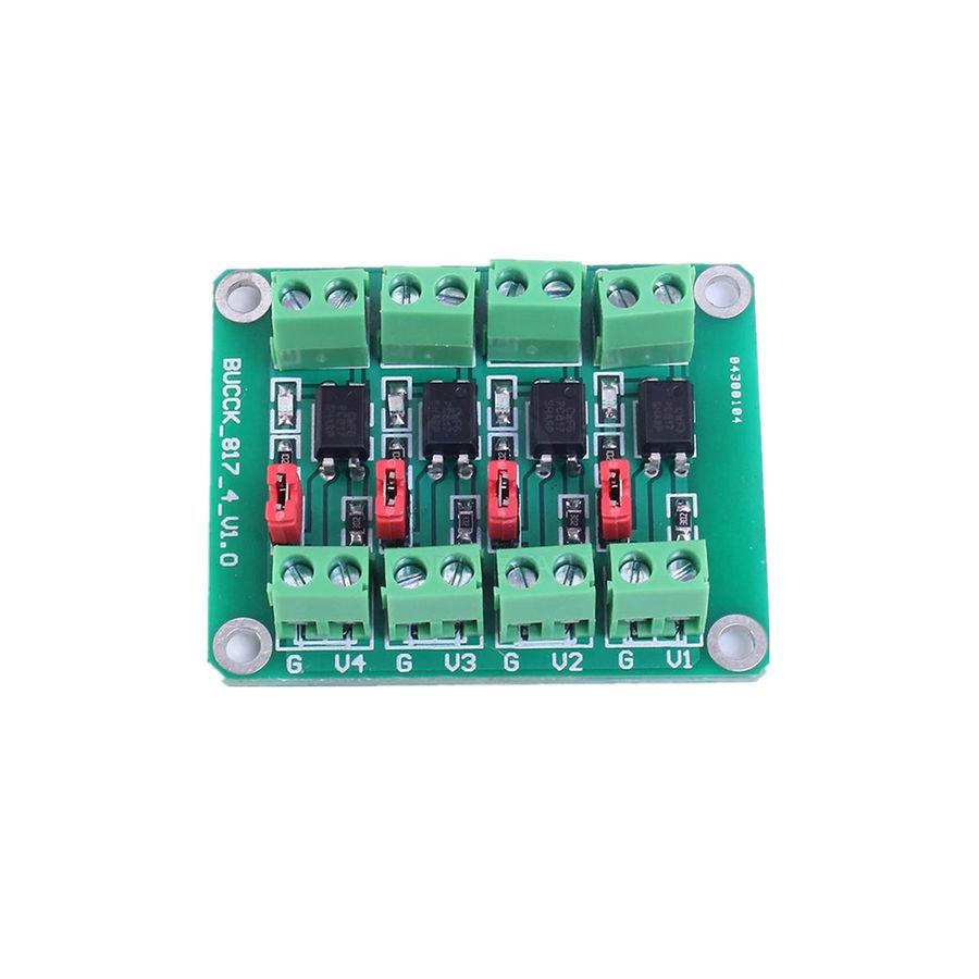PC817 4 Kanal Optokuplör İzolasyon İçin Modül