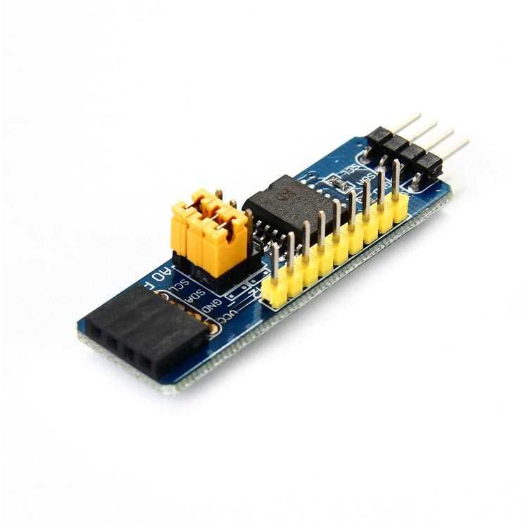 PCF8574 Arduino IO Genişletme Shield / Kartı (I2C)