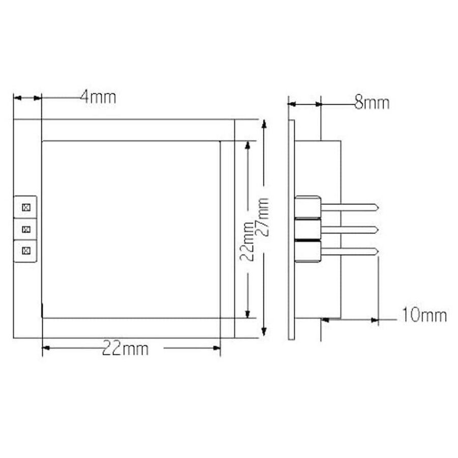 PD-V11 Mikrodalga Hareket Sensörü