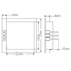 PD-V11 Mikrodalga Hareket Sensörü - Thumbnail