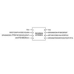 PIC12F615-I/SN SMD 8-Bit 20Mhz Mikrodenetleyici - Thumbnail