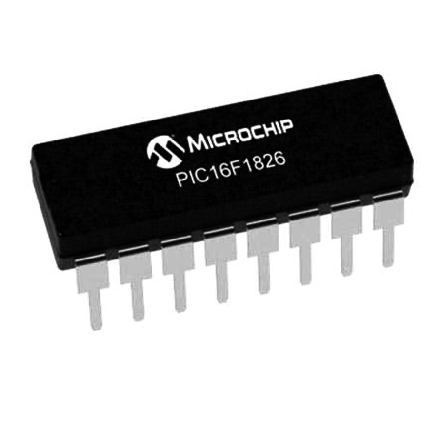 PIC16F1826-I/P PDIP-18 8-Bit 32MHz Mikrodenetleyici