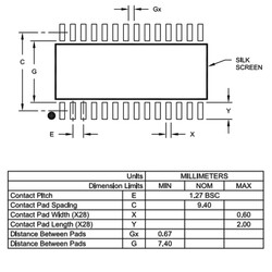PIC16F1938-I/SO Smd 32MHz 8-Bit Mikrodenetleyici Soic28 - Thumbnail