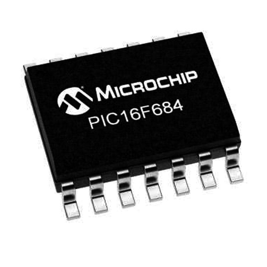 PIC16F684 I/SL SMD SOIC-14 8-Bit 20 MHz Mikrodenetleyici