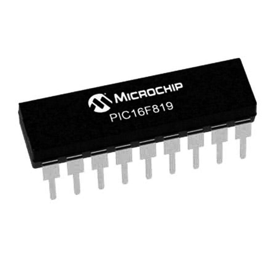 PIC16F819 I/P PDIP-18 8-Bit 20 MHz Mikrodenetleyici