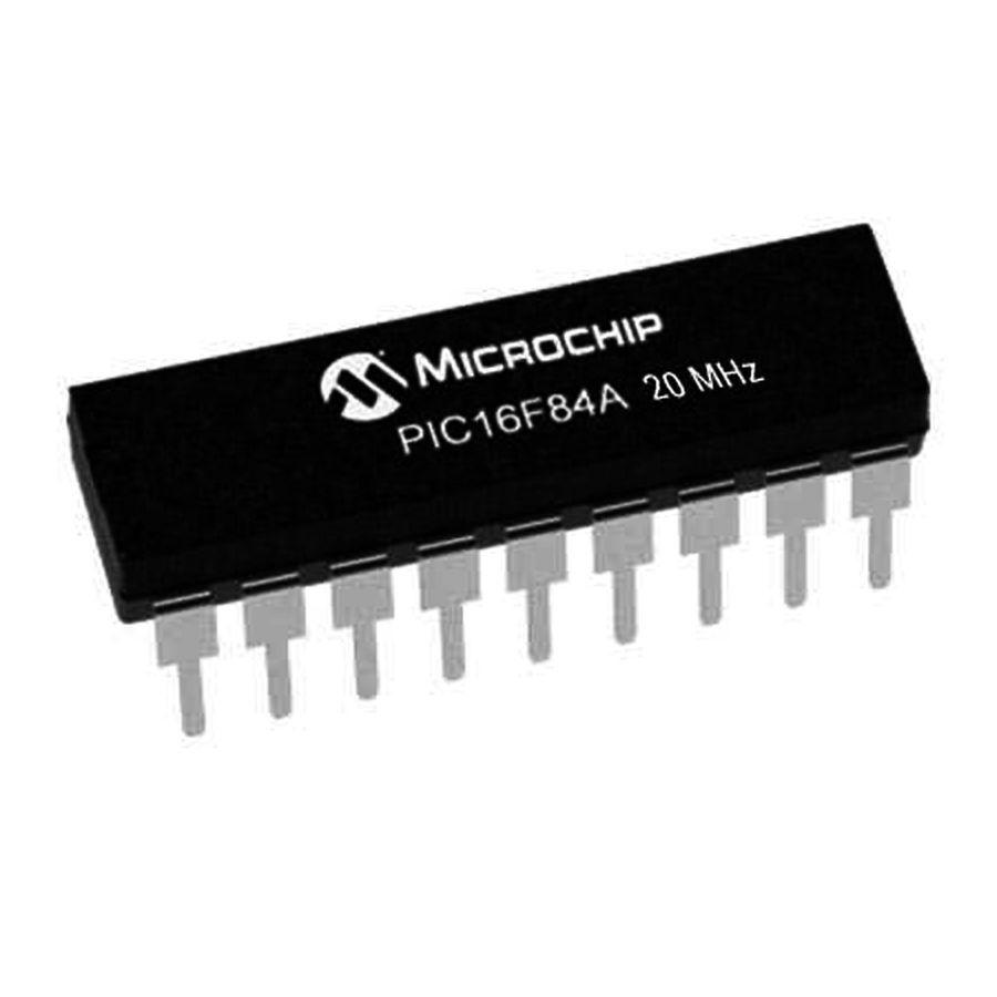 PIC16F84A 20/P PDIP-18 8-Bit 20MHz Mikrodenetleyici