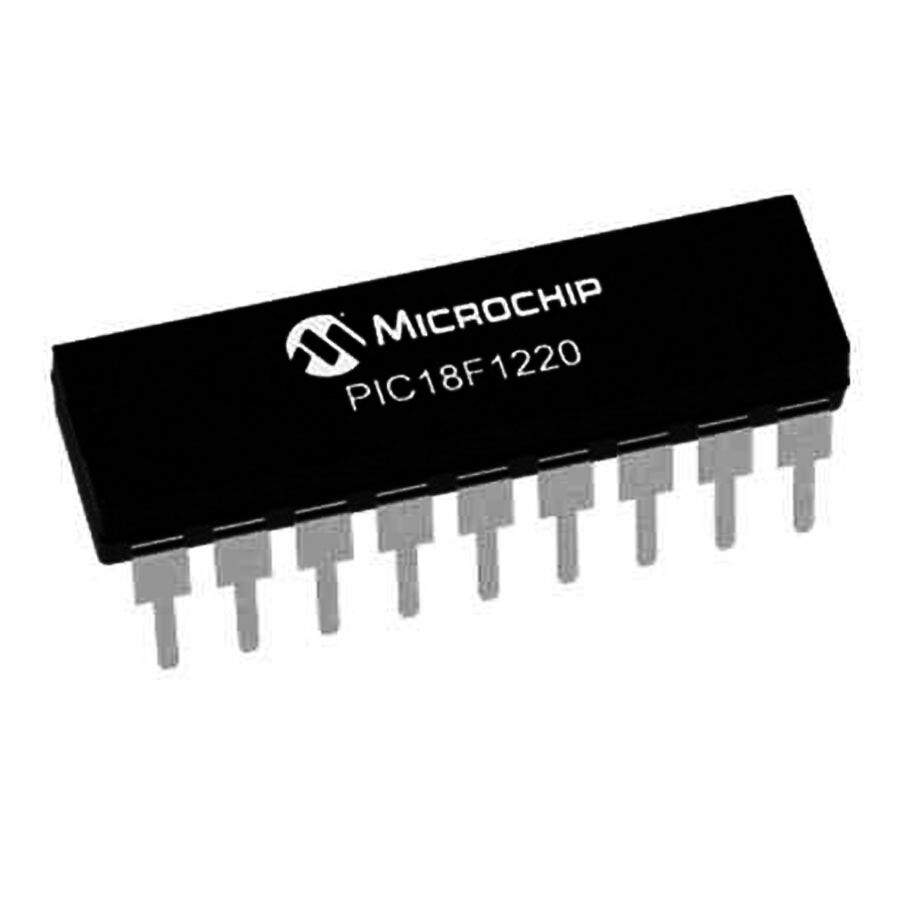 PIC18F1220 I/P DIP-18 8-Bit 40MHz Mikrodenetleyici