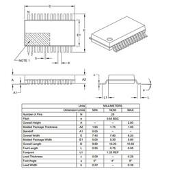 PIC18F25K22-I/SS SMD SSOP28 64MHz 8-Bit Mikrodenetleyici - Thumbnail