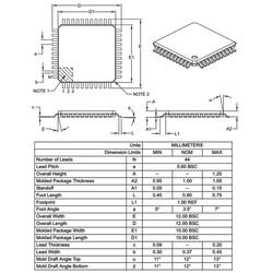 PIC18F45K80-I/PT SMD 8-Bit 64MHz Mikrodenetleyici TQFP-44 - Thumbnail