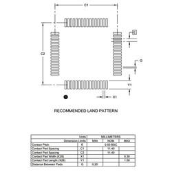 PIC18F67K40-I/PT 8-Bit 64MHz SMD Mikrodenetleyici TQFP64 - Thumbnail
