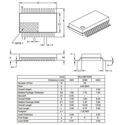 PIC18LF26K22-I/SS SMD SSOP28 64Mhz 8-Bit Mikrodenetleyici - Thumbnail