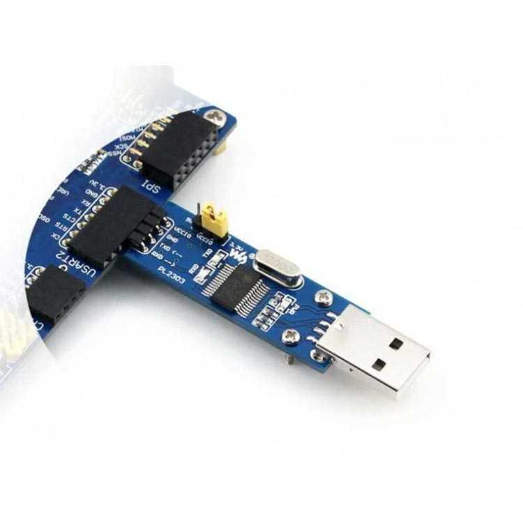 PL2303 USB-UART Çevirici Modül (USB-A) - Waveshare