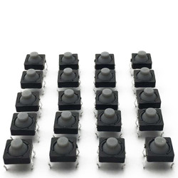 8x8 5mm 4 Pinli Plastik Başlı Buton - Thumbnail