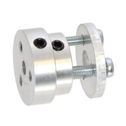 Pololu Alüminyum Tekerlek Adaptörü 6mm - Thumbnail