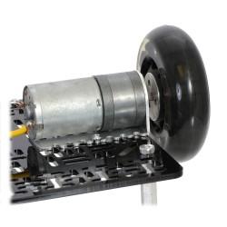 Pololu Alüminyum Tekerlek Adaptörü 4mm - Thumbnail
