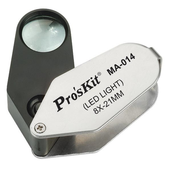 MA-014 Işıklı Büyüteç - Proskit