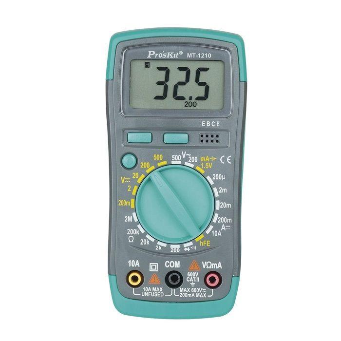 MT-1210 3 1/2 Kompakt Dijital Multimetre - Proskit