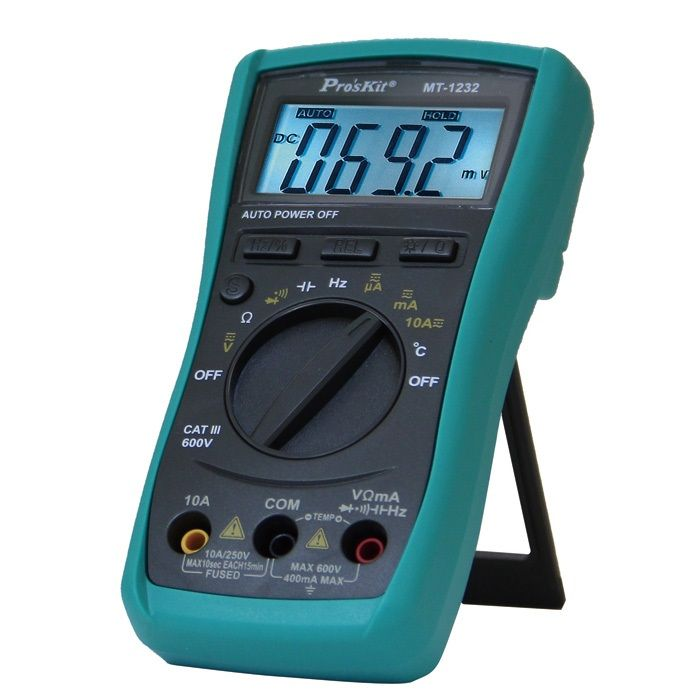 PROSKİT MT-1232 3 3/4 AUTORANGE DIGITAL MULTİMETRE