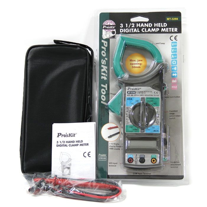Proskit MT-3266 3 1/2 El Tipi Dijital Pens Ampermetre