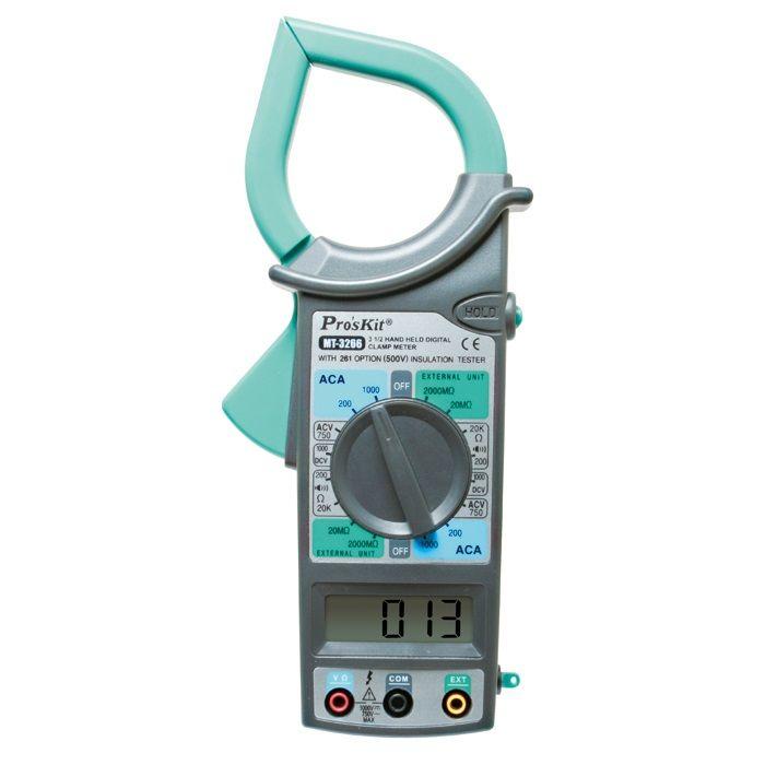 MT-3266 3 1/2 El Tipi Dijital Pens Ampermetre - Proskit