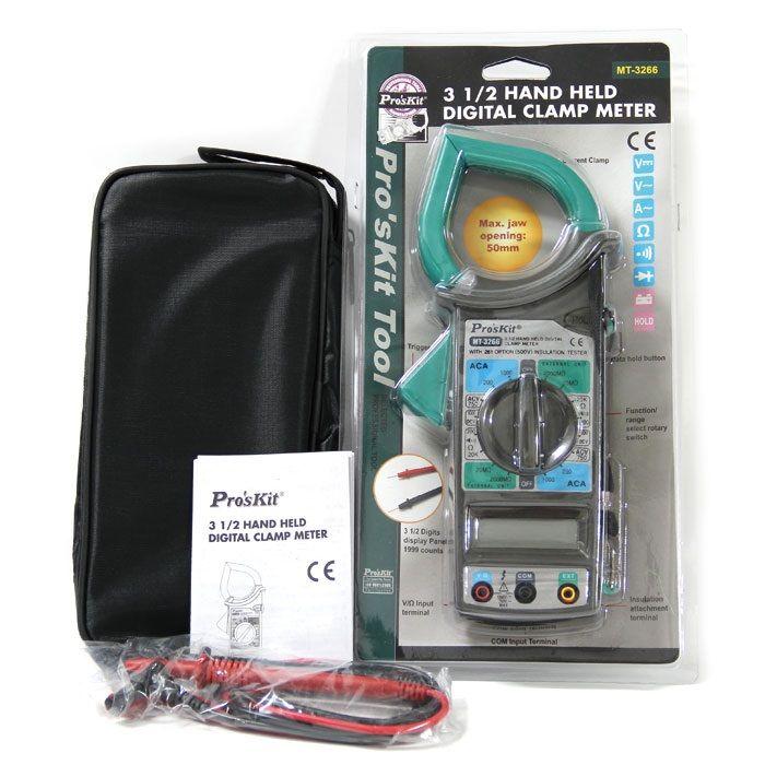 MT-3266 3 1/2 El Tipi Dijital Pens Ampermetre