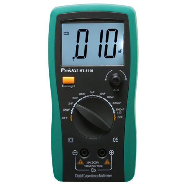 Proskit MT-5110 MU 3 1/2 Kapasitansmetre