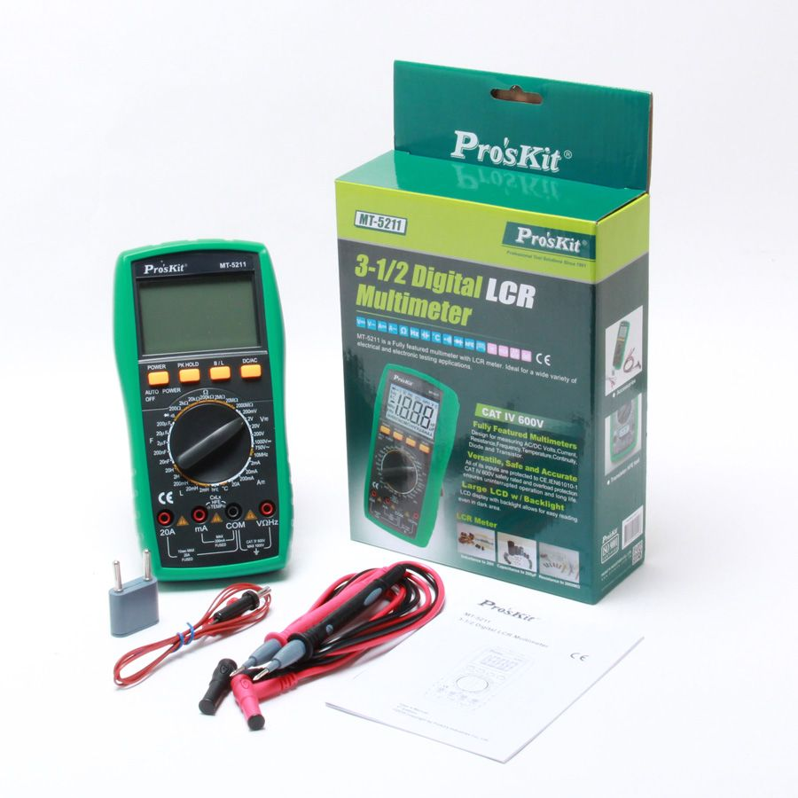 Proskit MT-5211 Dijital LCR Multimetre