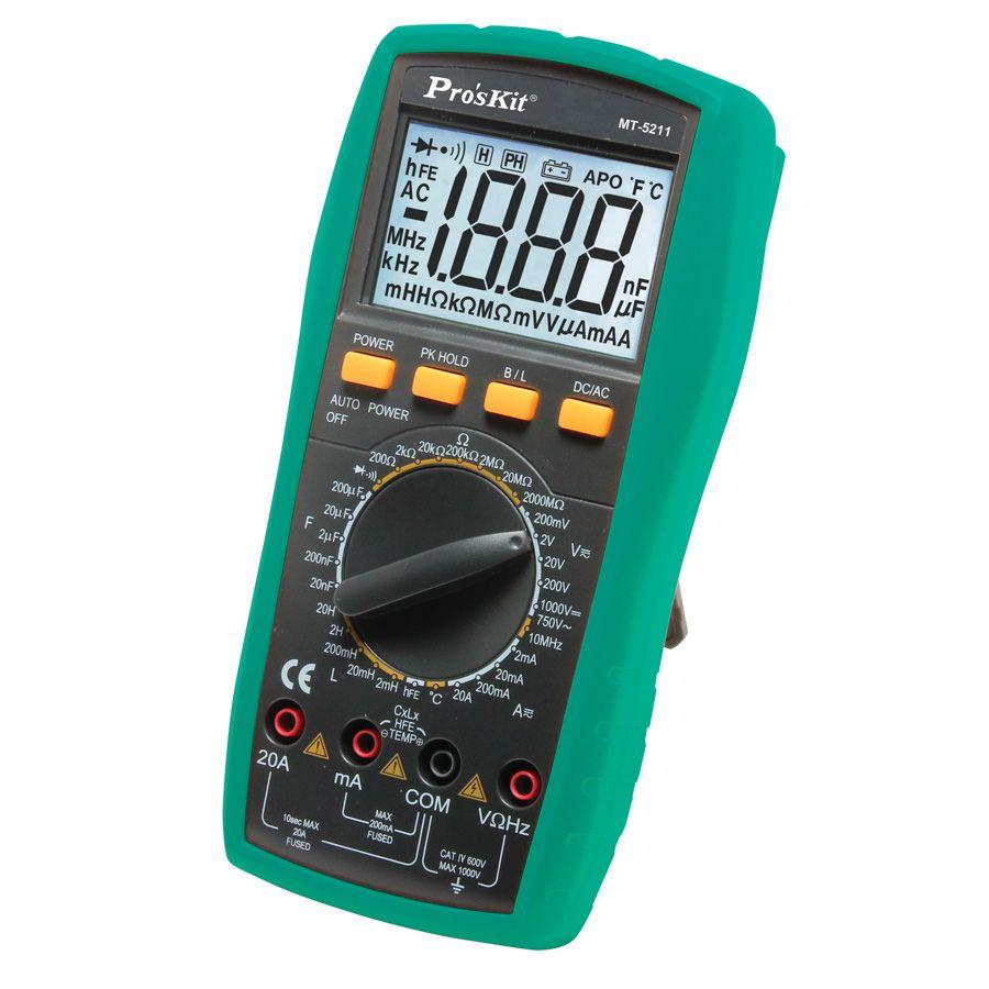 MT-5211 Dijital LCR Multimetre - Proskit