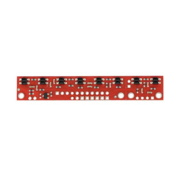 QTR-8RC Kızılötesi Çizgi Takip Sensörü - Yansıtıcı Optik Sensör Modülü