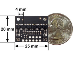 QTR-HD-06A 6 Kanal Analog Kızılötesi Sensör Modülü - 4mm - X - Thumbnail