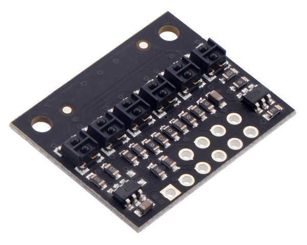 QTR-HD-06A 6 Kanal Analog Kızılötesi Sensör Modülü - 4mm - X