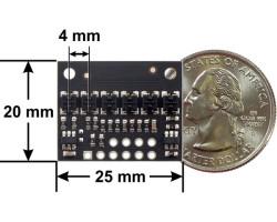 QTR-HD-06RC 6 Kanal Dijital Kızılötesi Sensör Modülü - 4mm - X - Thumbnail