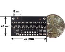 QTR-MD-05A 5 Kanal Analog Kızılötesi Sensör Modülü - 8mm - Thumbnail