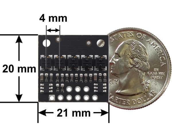 QTRX-HD-05A 5 Kanal Analog Kızılötesi Sensör Modülü